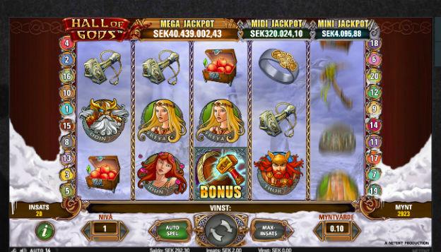 Öka insatsen på Mega Moolah för att vinna jackpotten
