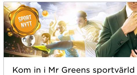 Mr Green odds bonus